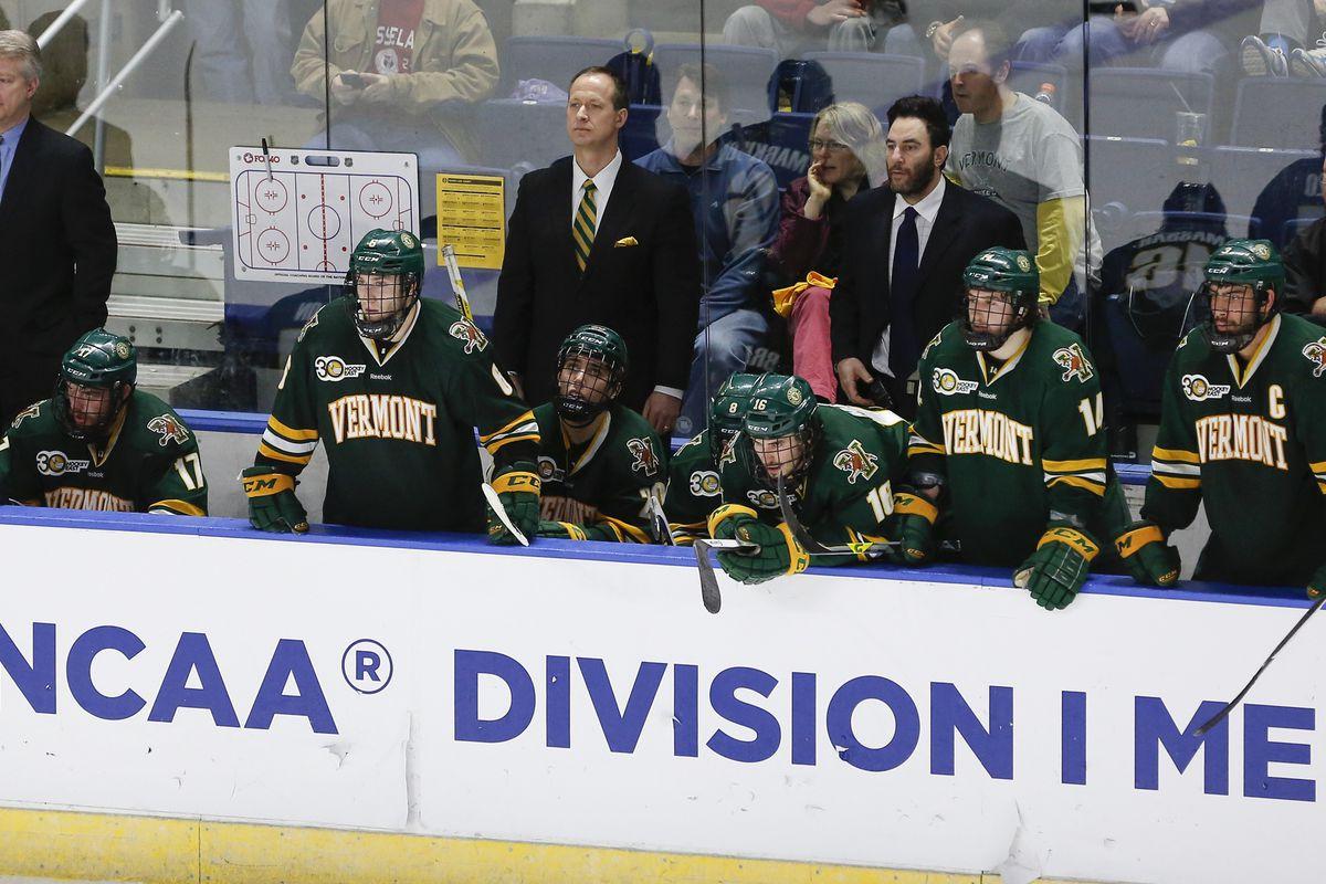 Gallery Photo: NCAA Hockey Tournament Photo Gallery: Union 5, Vermont 2