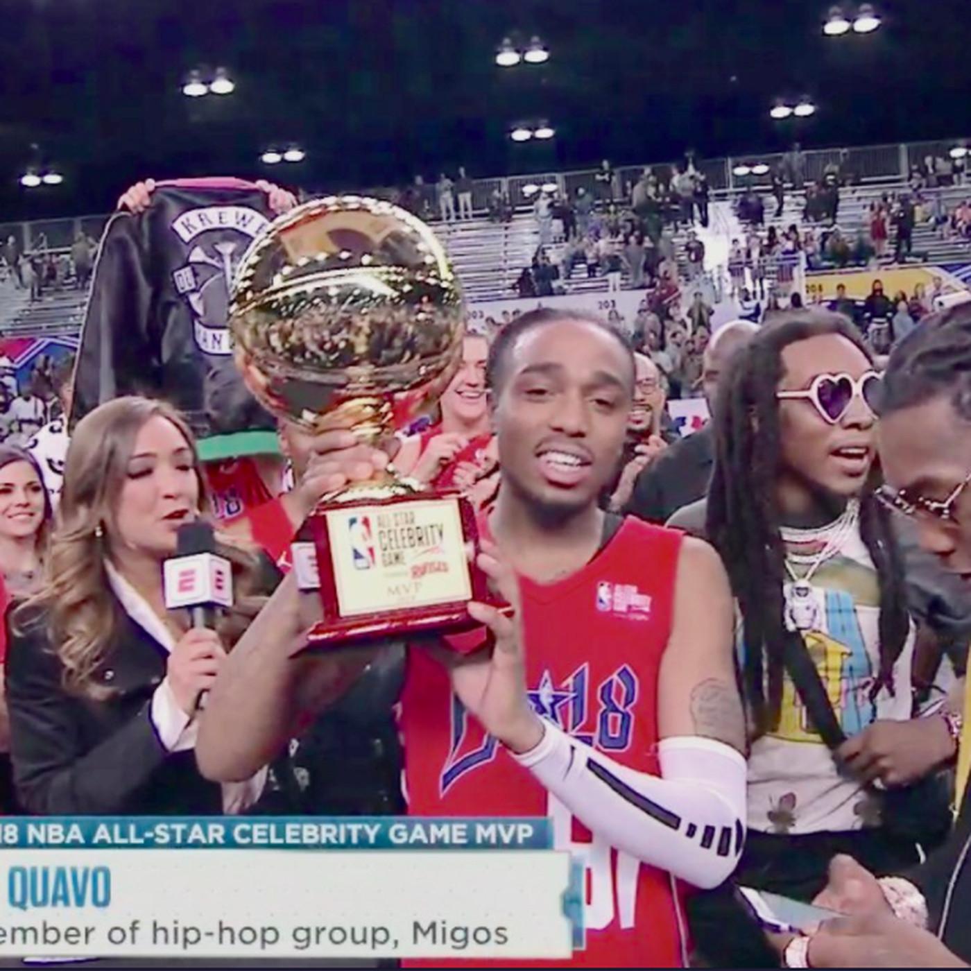 2018 All-Star Celebrity Game  Quavo of Migos wins MVP - SBNation.com db7a387b2