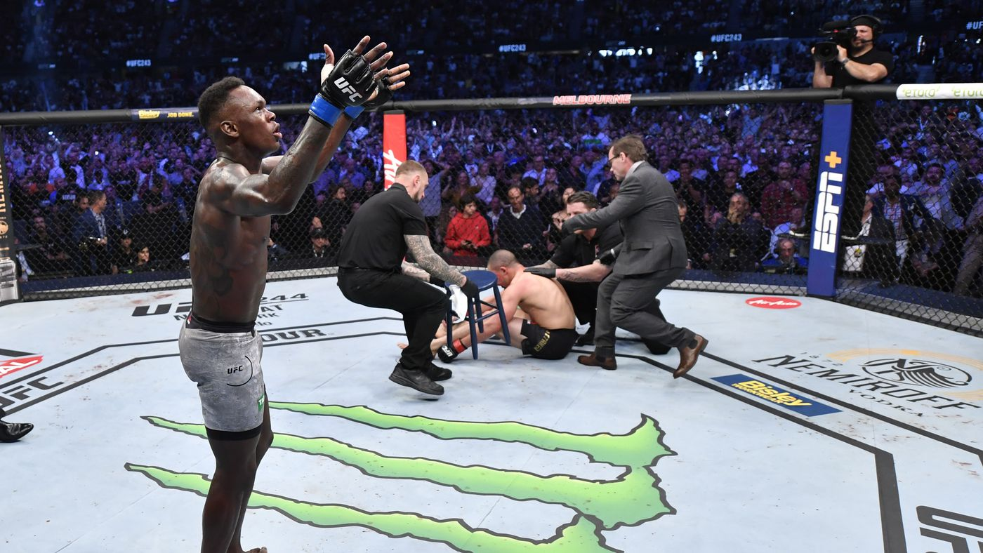 UFC 243 results: Biggest winners, losers for 'Whittaker vs Adesanya' in Melbourne