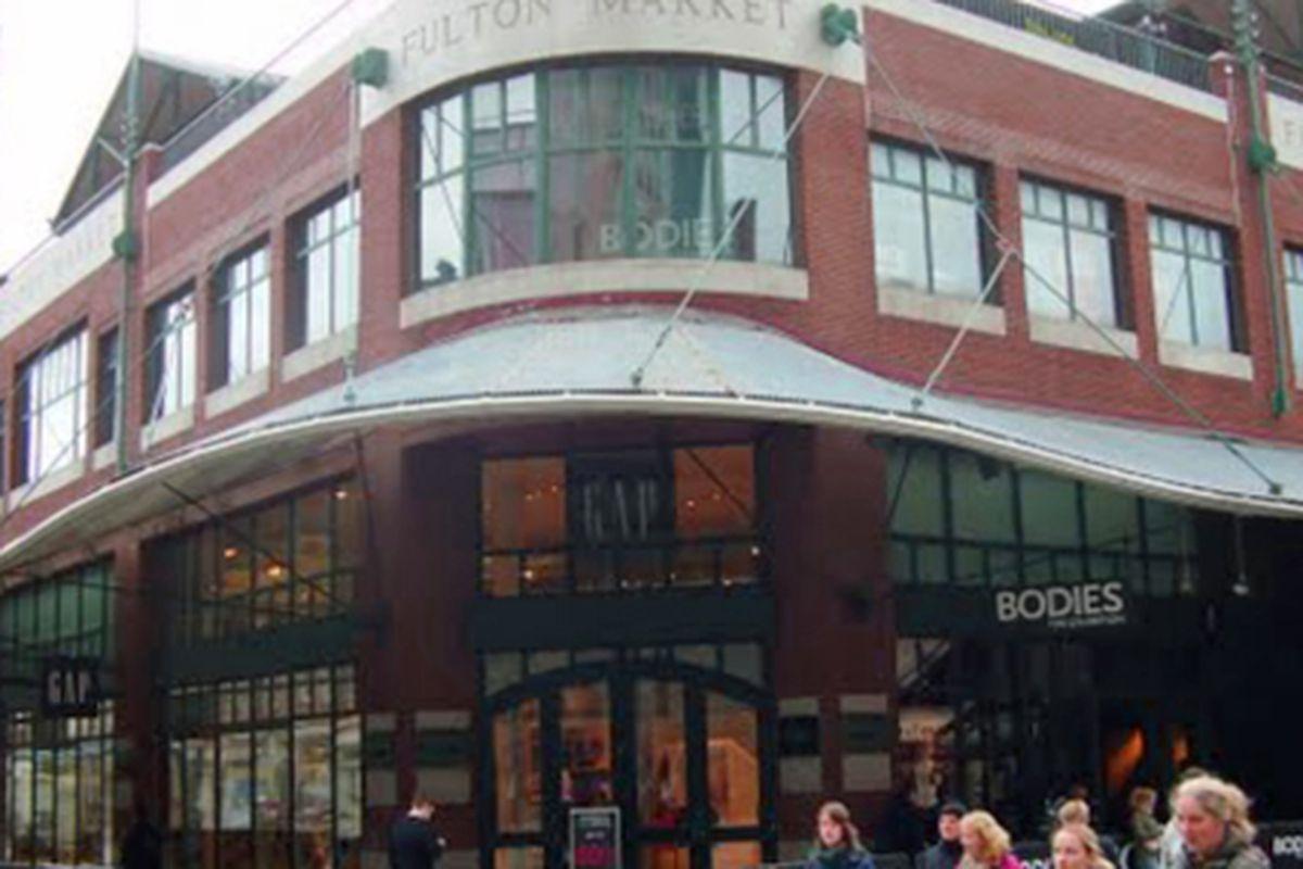 The Gap store at the South Street Seaport pre-Sandy, via Google Maps<span></span>