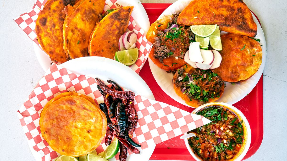 Teddy's Red Tacos Mexican Breakfast