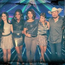 The finalists: Fifth Harmony, Carly Rose Sonenclar and Tate Stevens.