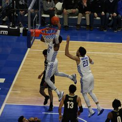 Kentucky defeats Vanderbilt 71-62 in Rupp Arena on Wednesday, Jan. 29, 2020. The Wildcats were led by Nick Richards, who had 15 points and 11 rebounds.