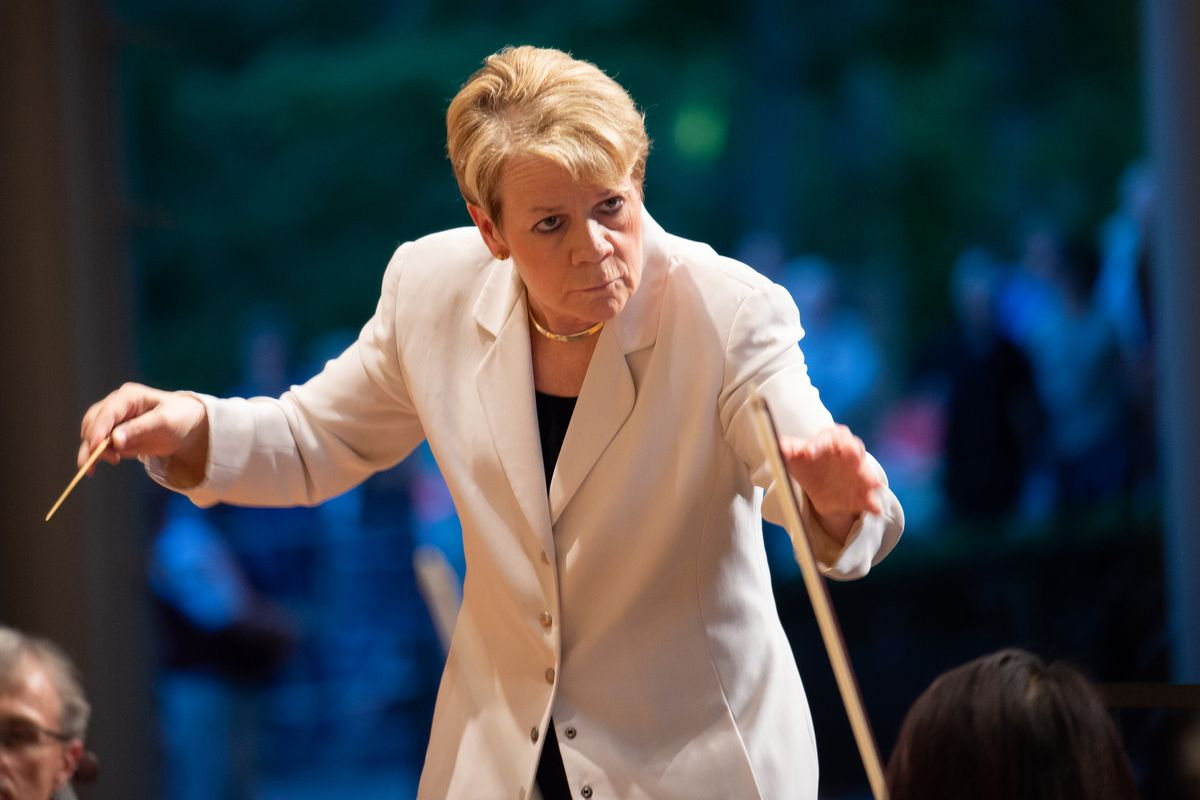 Marin Alsop has been named the first-ever chief conductor and curator of the Ravinia Festival.