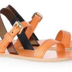 "<a href=""http://www.net-a-porter.com/product/190483"">ACNE Fleur leather sandals</a>, $175 (was $350)"