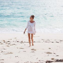 """""""I recently honeymooned with my husband in Africa and spent eight days on a tiny island in the Seychelles called Denis Island. It was the most relaxing, secluded and romantic vacation I've ever been on. Every day felt like we were living in a postcard. Ou"""