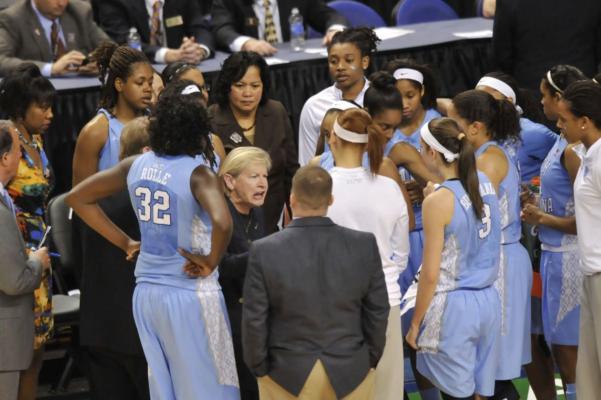 Tricia Stafford-Odom will miss the relationships she established at North Carolina.