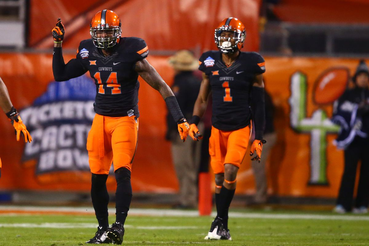 Josh Furman (left) was one of the most athletic safeties in the 2015 draft class.