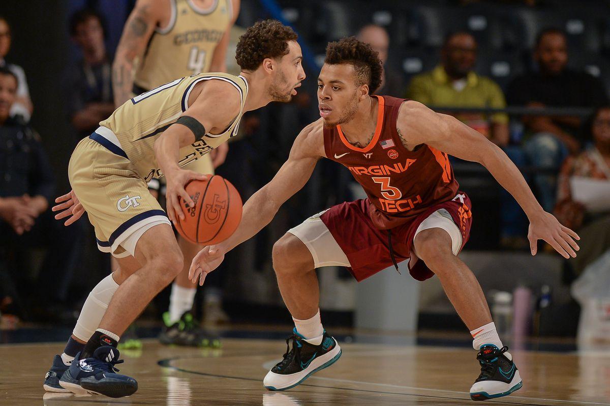 COLLEGE BASKETBALL: FEB 04 Virginia Tech at Georgia Tech