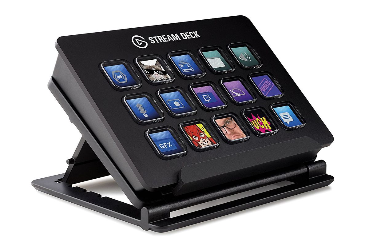 The Elgato Stream Deck is an Optimus keyboard for your