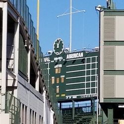 Another view of the scoreboard