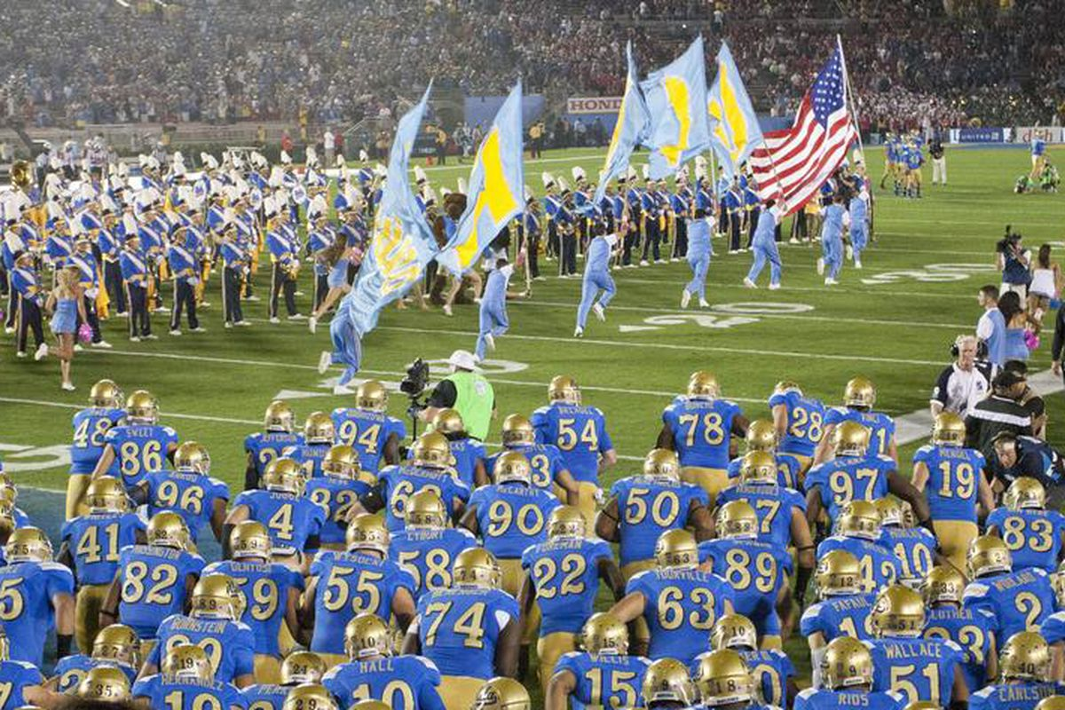 Nine more days until UCLA takes the field at The Rose Bowl!