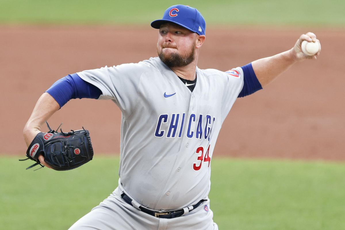 Cubs starter Jon Lester pitches against the Indians  Tuesday night in Cleveland.