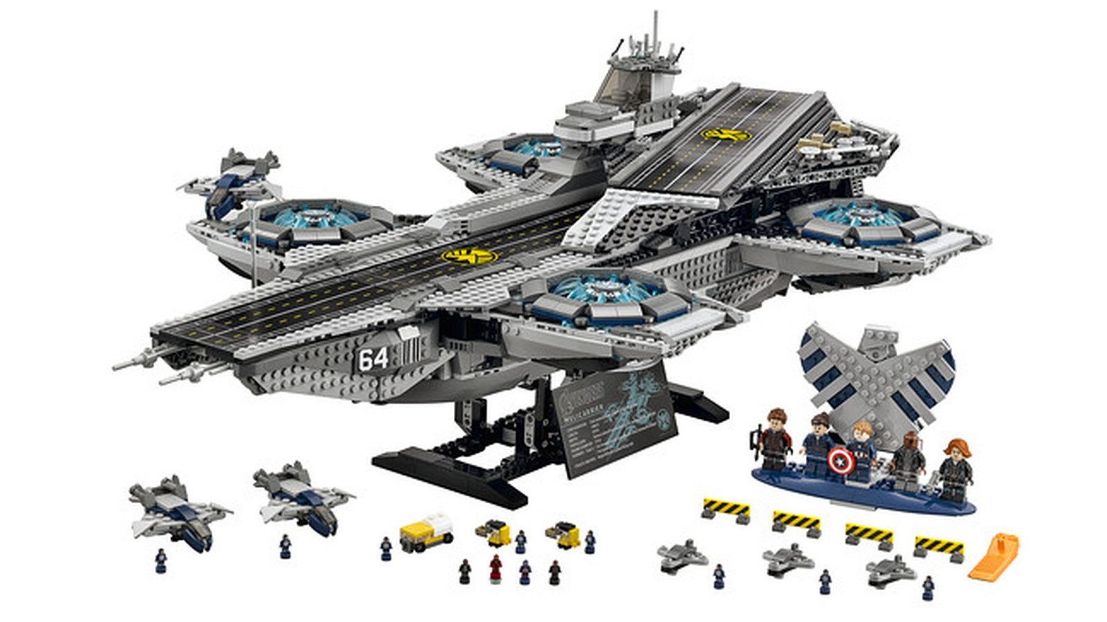 The Lego Avengers Helicarrier Set Is Appropriately Epic