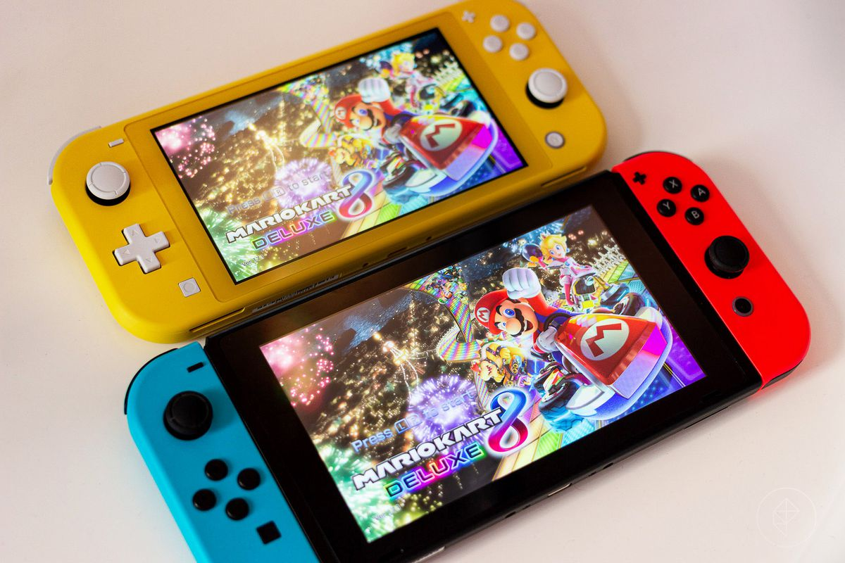 Nintendo Switch Lite Hands On Preview And Impressions Polygon