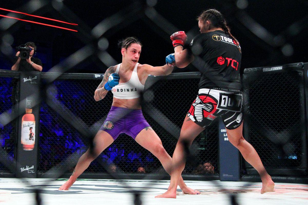MMA: Bellator 186-Ilima Macfarlane vs Emily Ducote