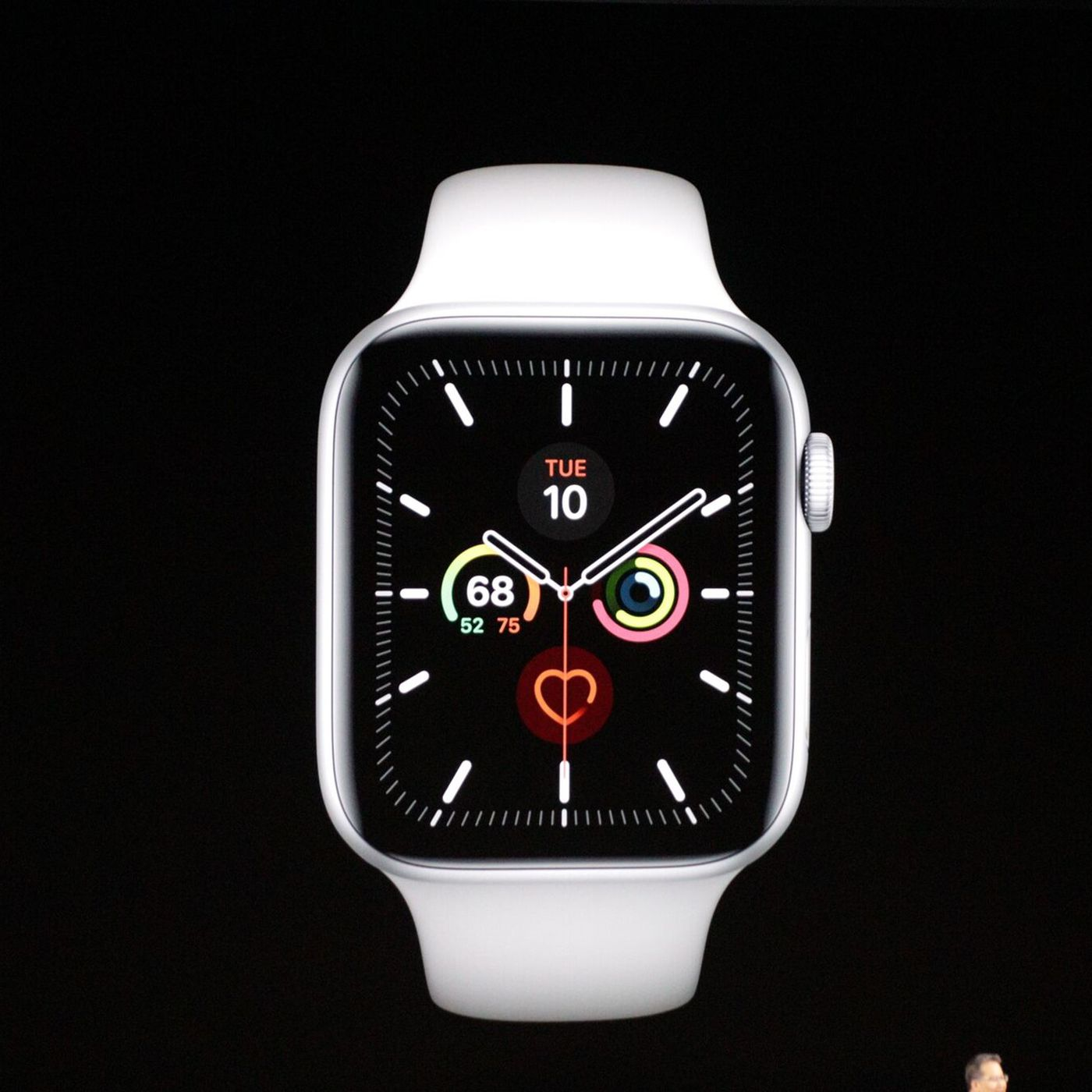 Apple Watch Series 5 Has An Always On Display And Comes In Titanium Or Ceramic Finishes The Verge