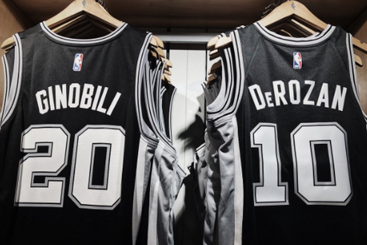 best website 2fd27 a4f57 New Spurs players getting jersey numbers - Pounding The Rock