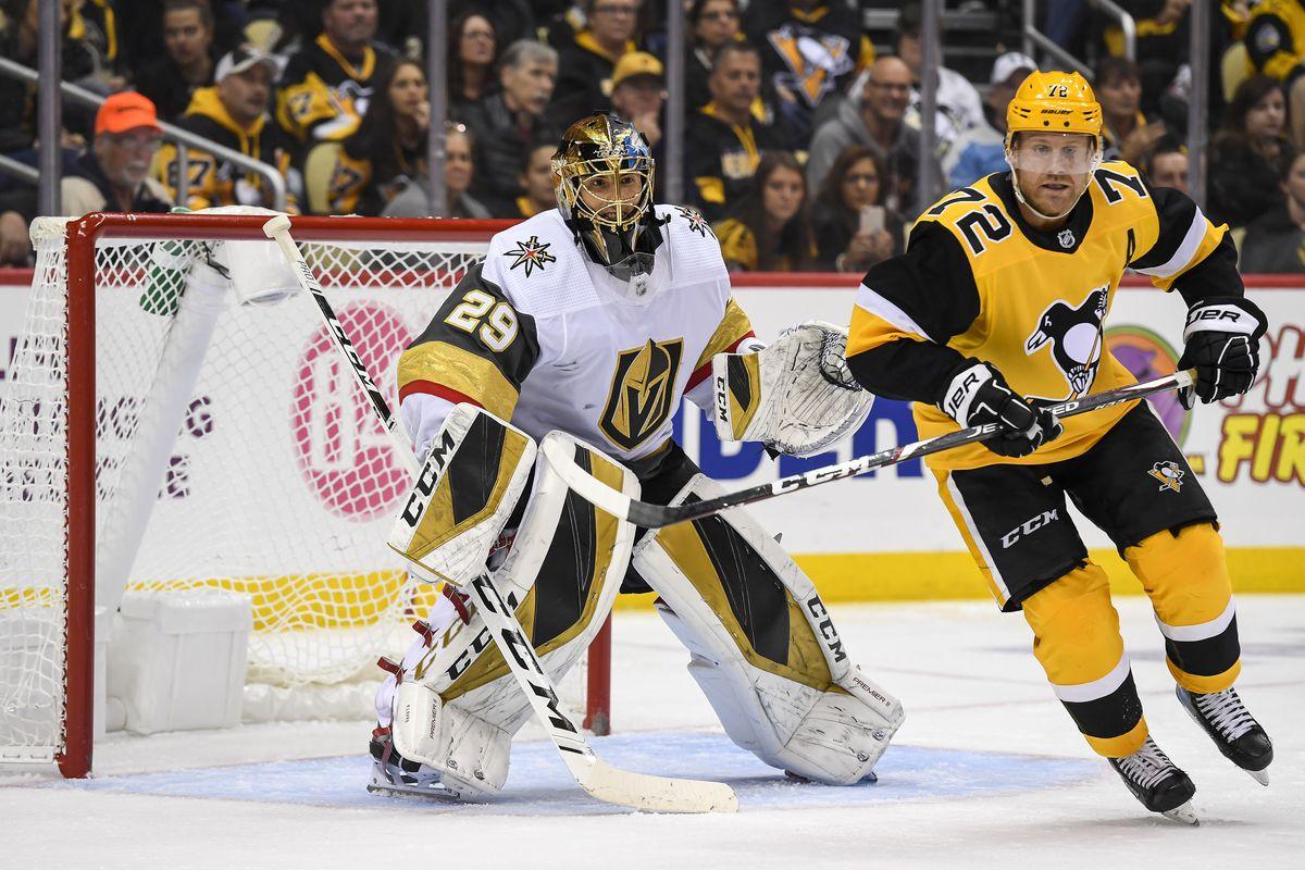 NHL: OCT 19 Golden Knights at Penguins
