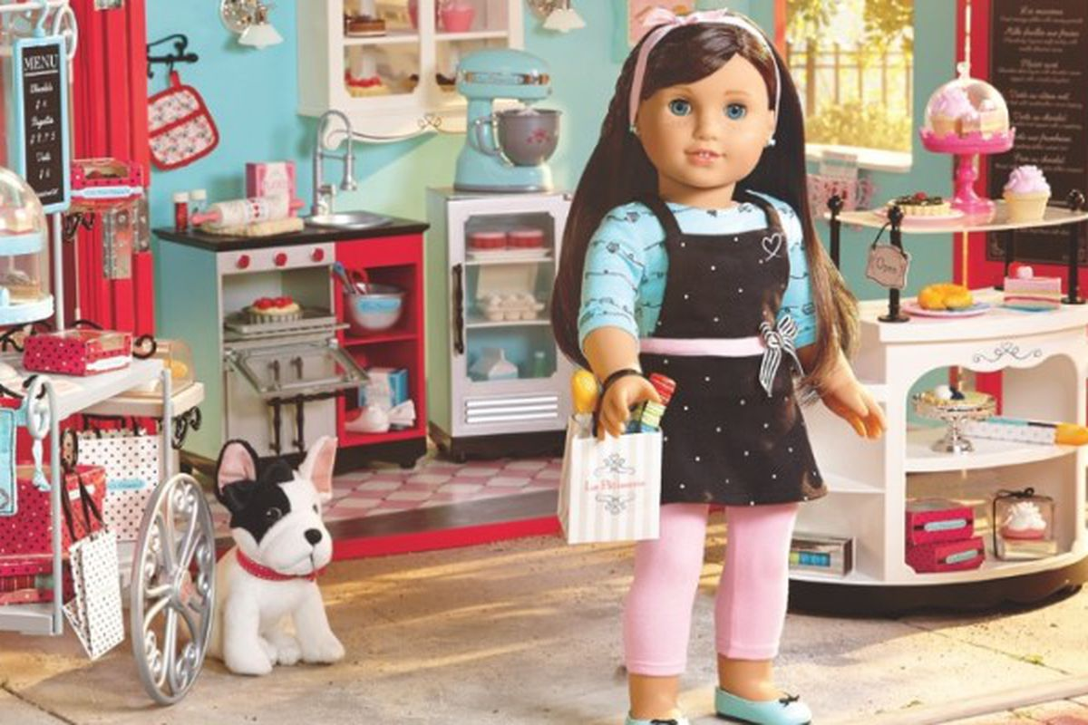 """The new American girl doll is an """"entrepreneur"""" with no business supplies."""