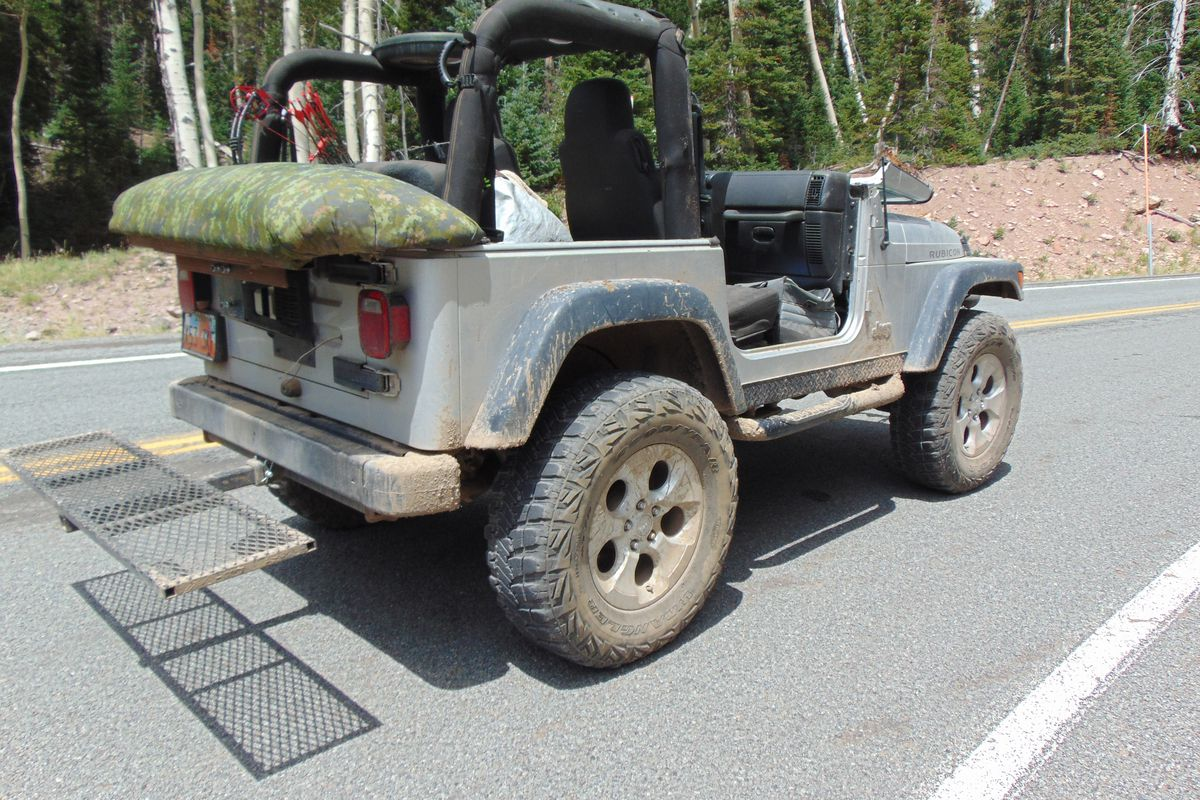 A man died Monday after falling out of the back of a Jeep and hitting his head near Beaver on Monday, Aug. 20, 2018, according to officials.
