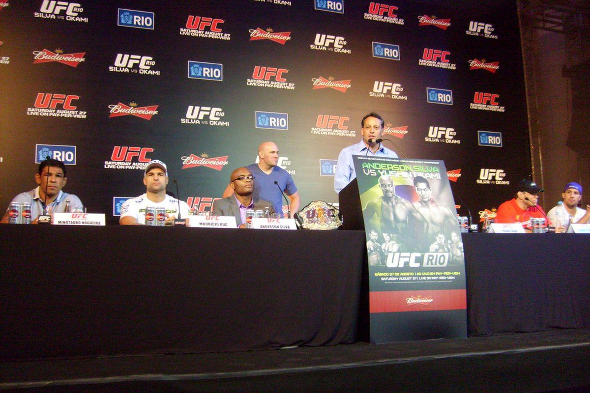 UFC Rio Press Conference