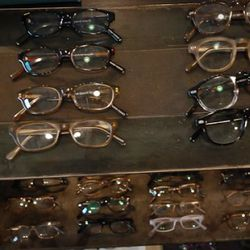 Warby Parker on display