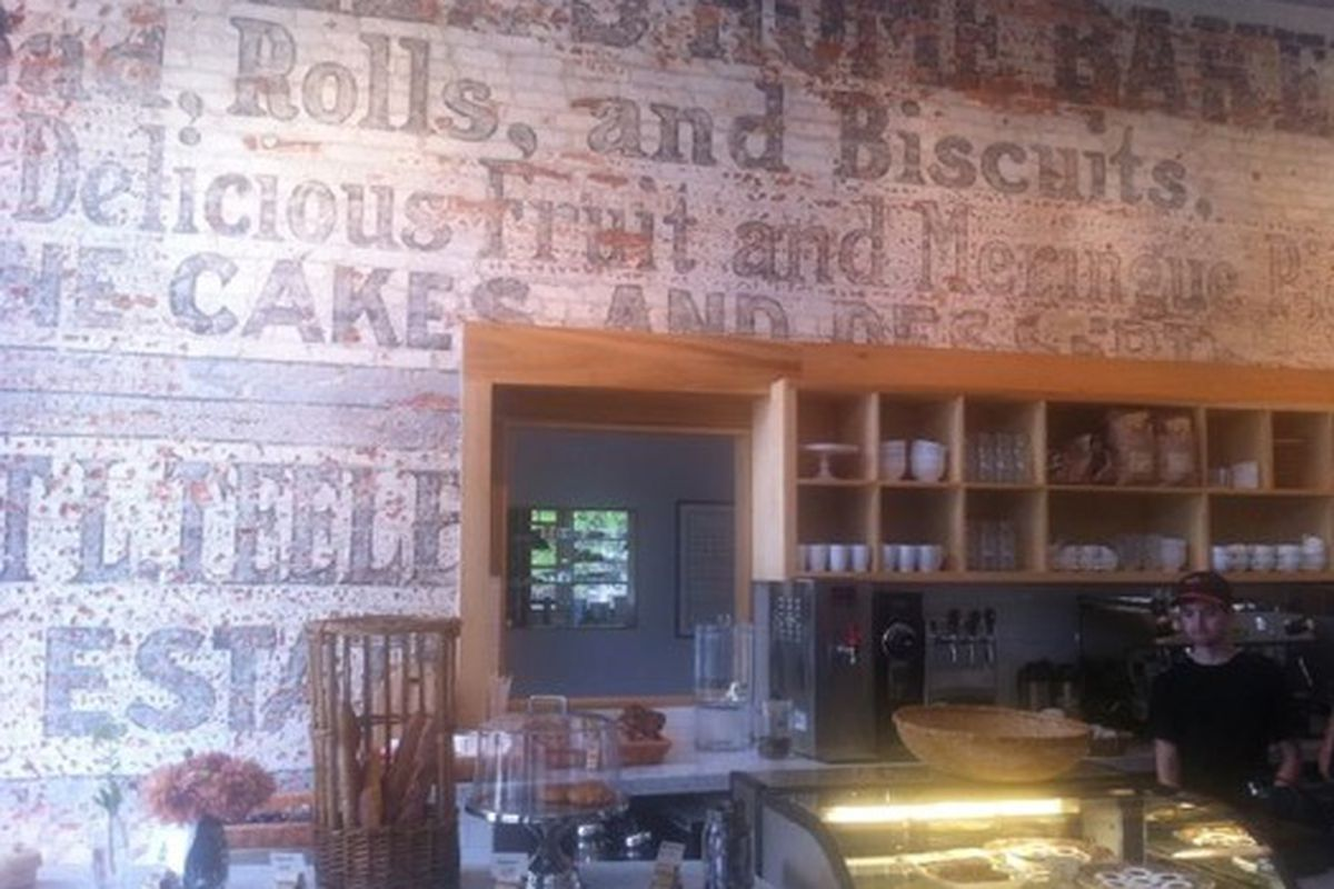 The bakery at Cakes & Ale.