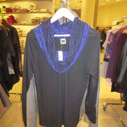 Missoni cowl neck sweater, $59.50
