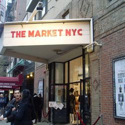"""<b>↑</b> Once you've had your fill of the many boldface names that the West Village offers up in shopping, check out some indie designers, artisans and vintage vendors at <b><a href="""" http://www.themarketnyc.com/themarketnyc/THE_MARKET_NYC.html"""">The Marke"""