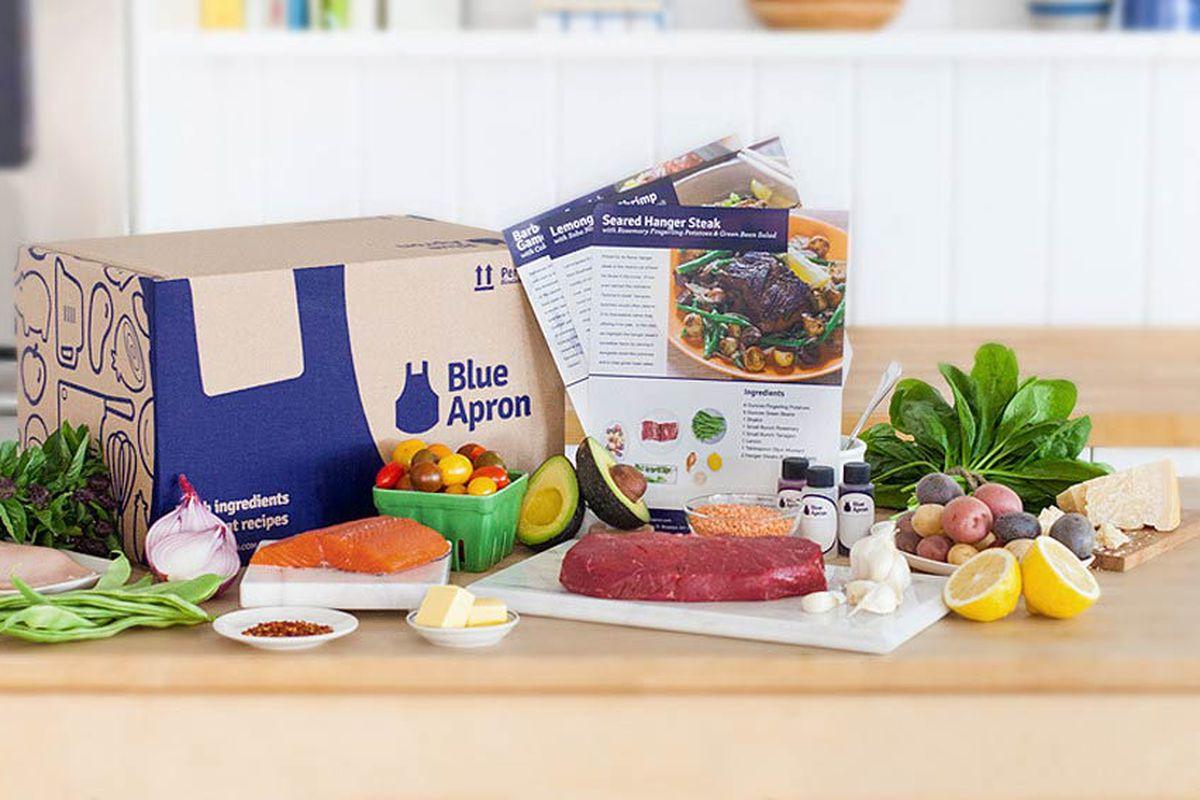 Blue apron kit - Blue Apron