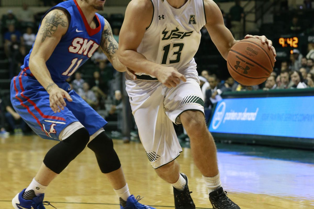 USF guard Jake Bodway. He's still on the team, right?