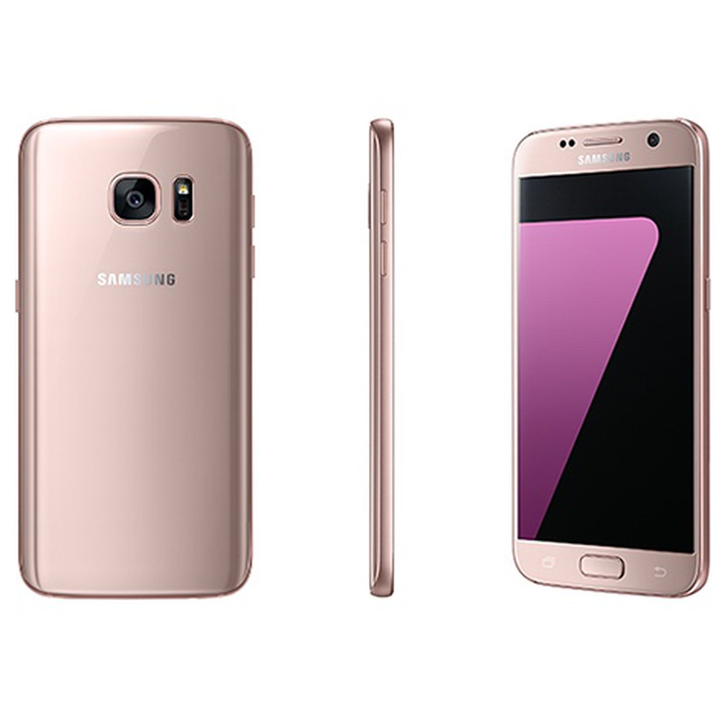 Samsung Announces Pink Gold Version Of Galaxy S7 And S7 Edge The Verge
