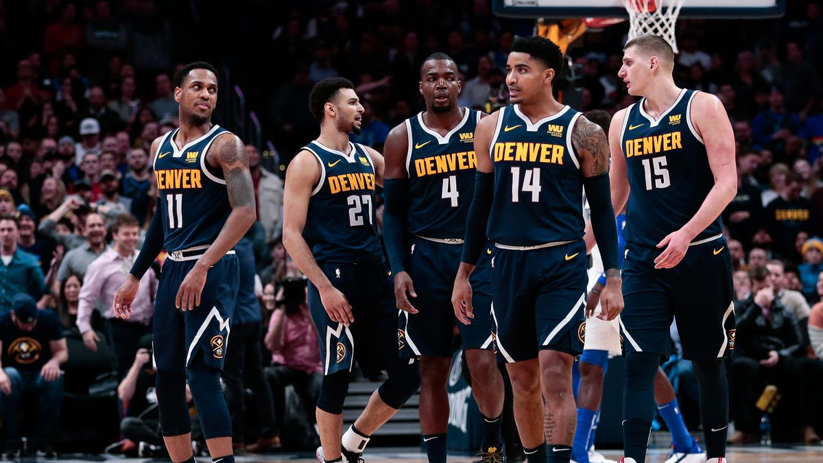 check out 9a69b 2f75b The Denver Nuggets are the NBA's anachronistic contender ...