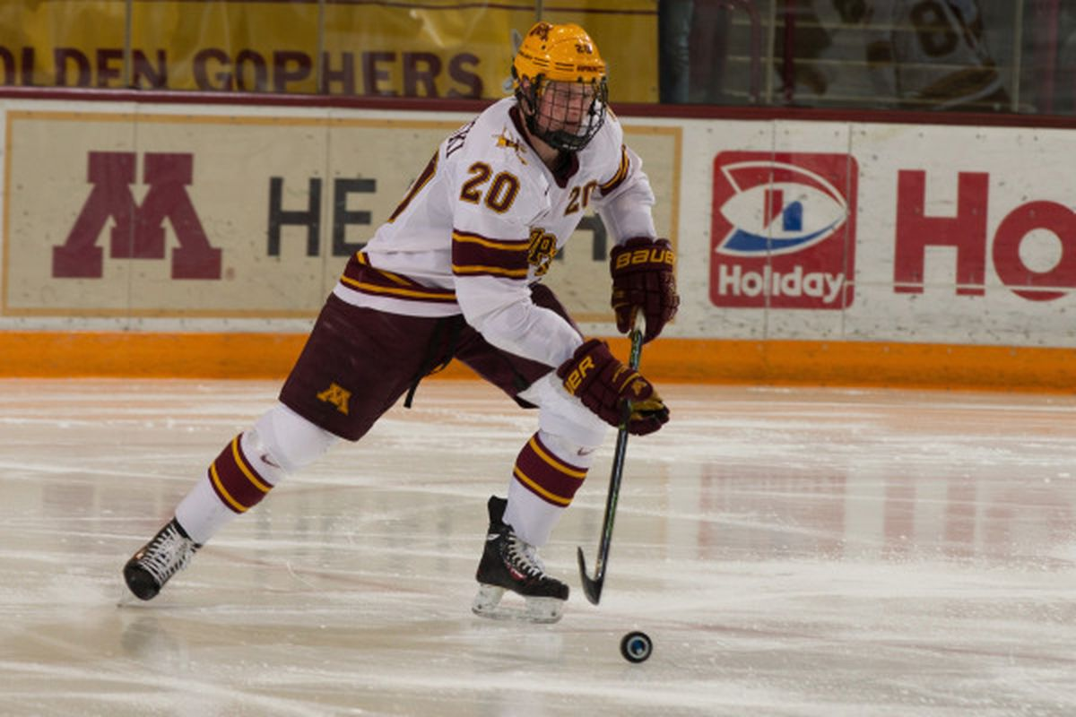 Brodzinski is the second Gopher to leave early this off-season