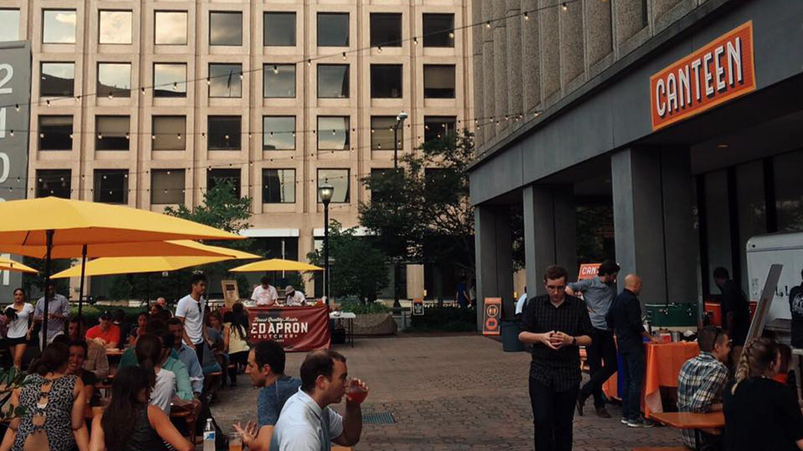 Pop Up Beer Garden Canteen Relocates To Shaw For The Summer Eater Dc