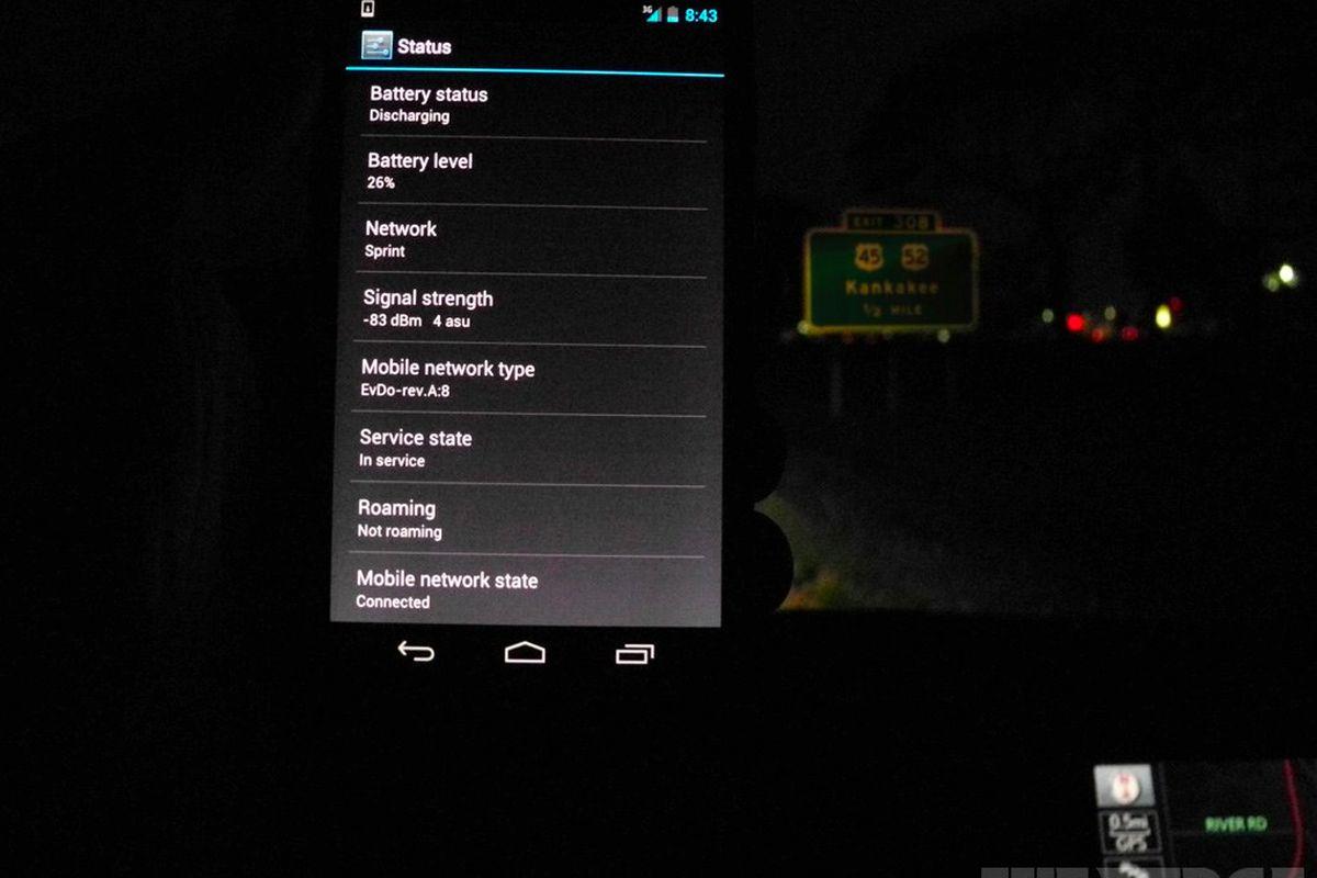 Sprint Galaxy Nexus in Kankakee