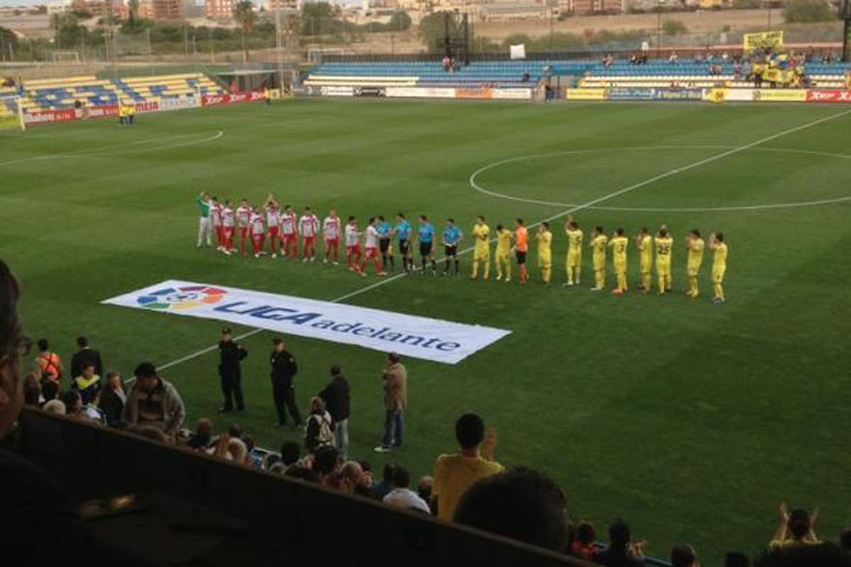 Villarreal's B team won their last home game at the Mini Estadi; now they will play the Segunda champions in front of a much larger crowd at El Madrigal.