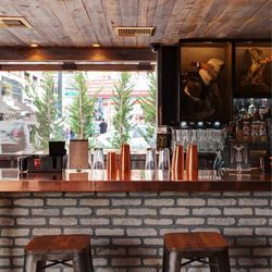 The bar at Park on Fremont.