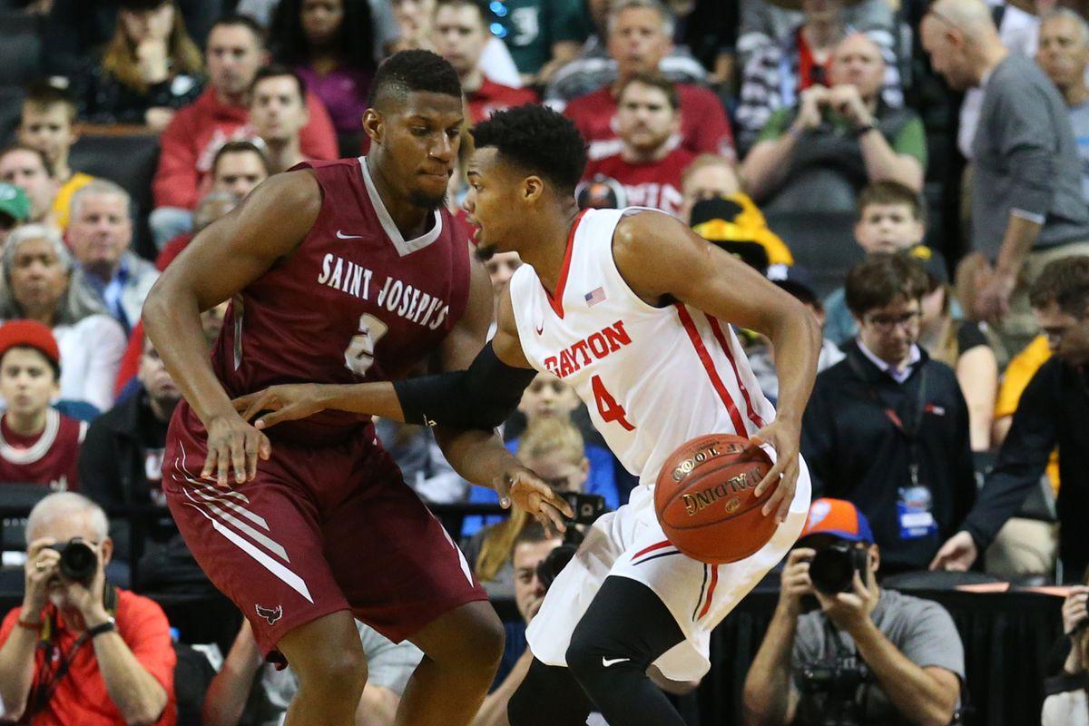 NCAA Basketball: Atlantic 10 Conference Tournament-Saint Joseph's Hawks vs Dayton Flyers