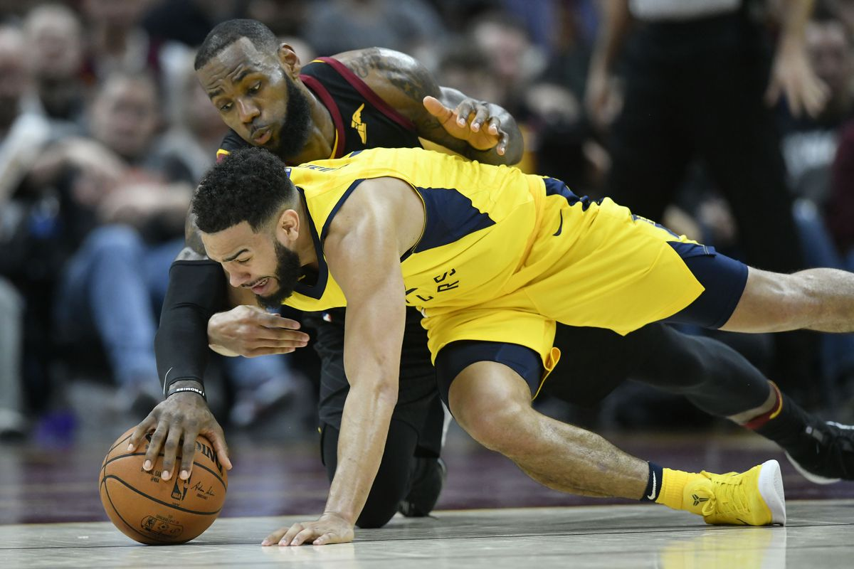 a978f282ae7 NBA Playoffs  Pacers steal home court from Cavaliers in convincing ...