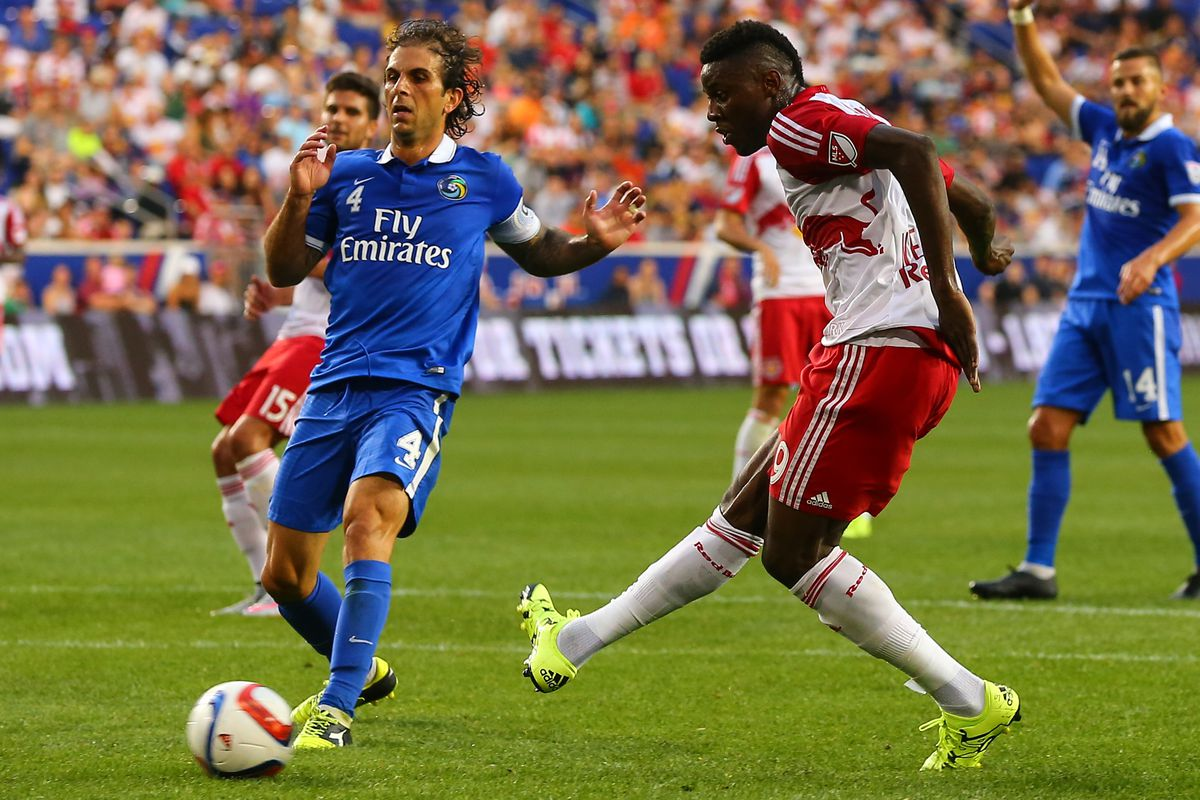 SOCCER: JUL 01 US Open Cup - Fifth Round - New York Cosmos at Red Bulls