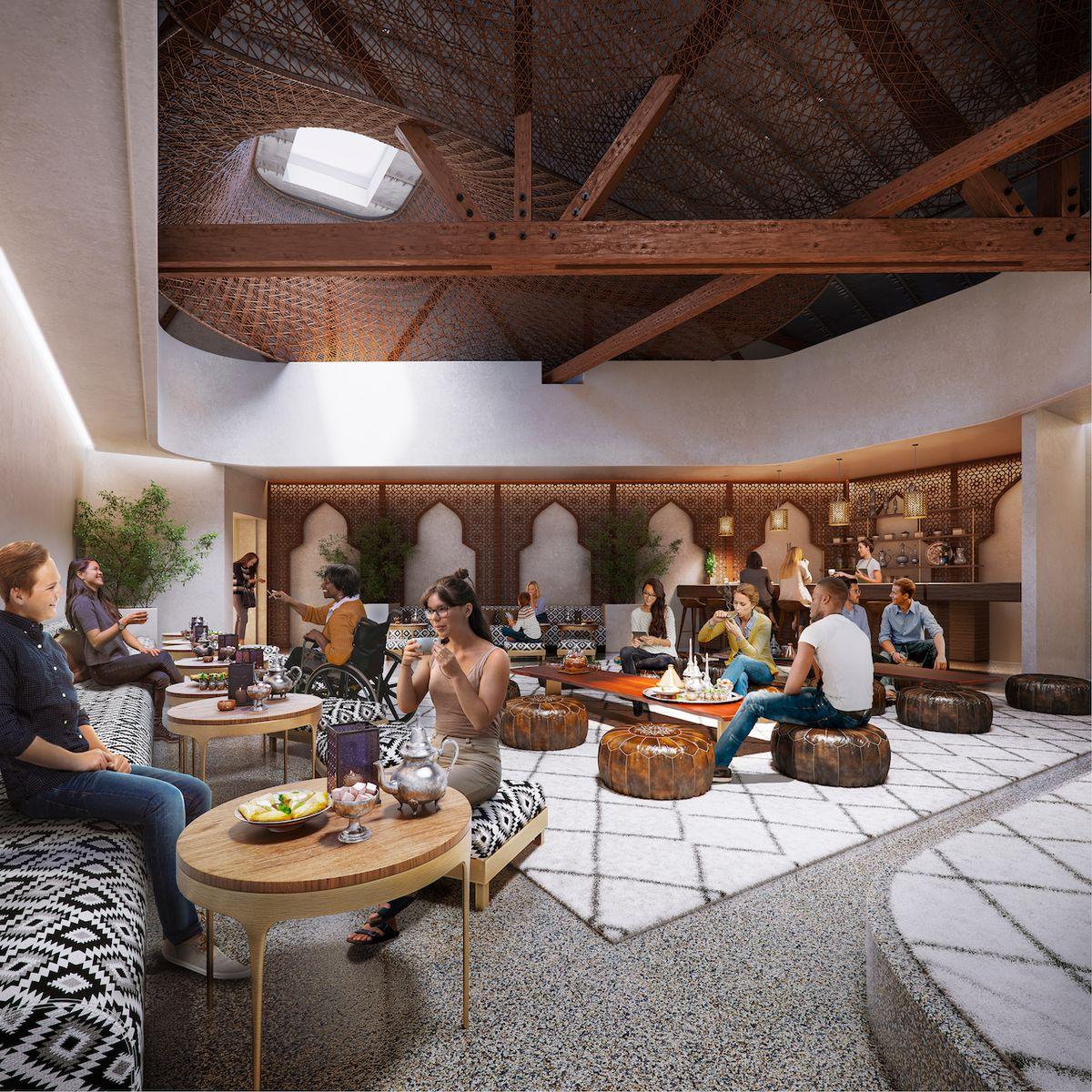 Future renderings for Aeon Botanika in West Hollywood