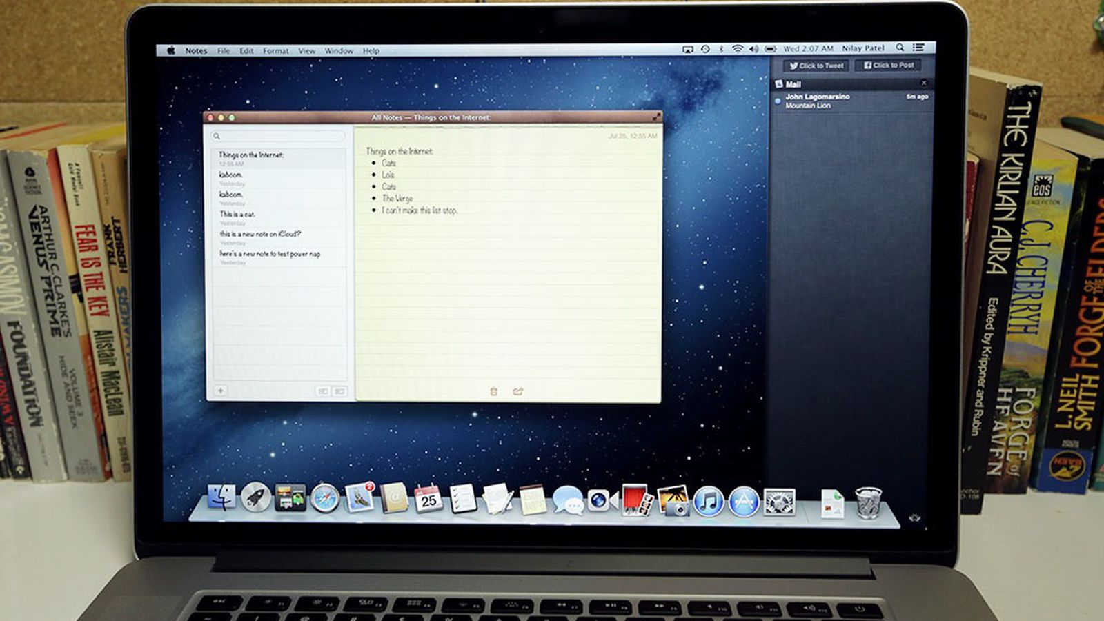 OS X 10.8 Mountain Lion review | The Verge