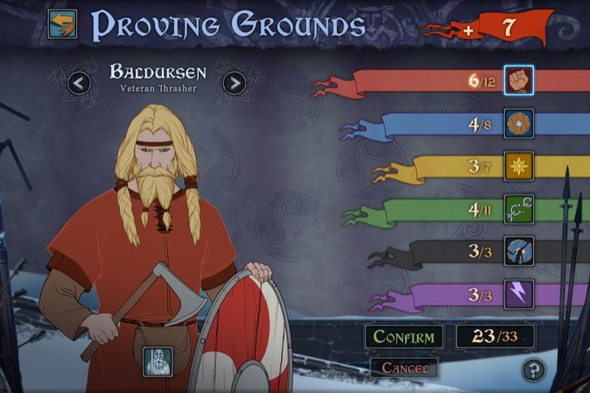 The Banner Saga is a strategy-RPG that makes stats matter