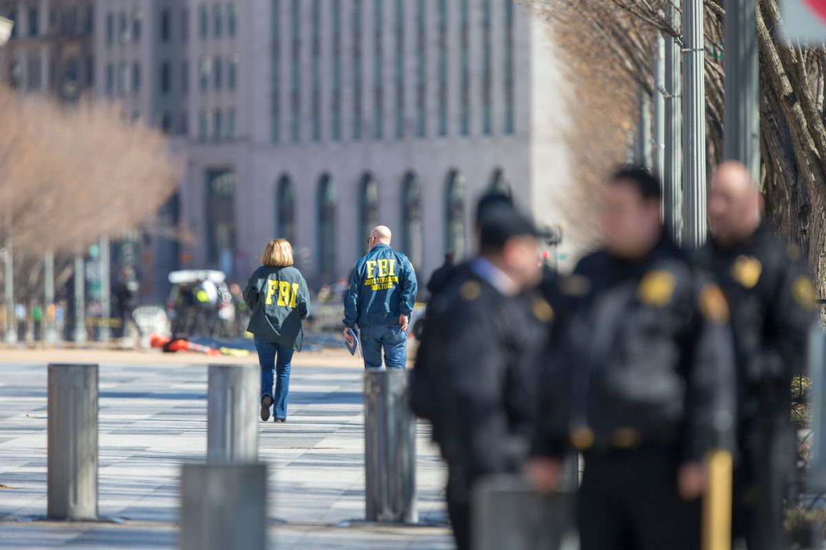 The White House is on lockdown after a man shot himself outside of it on March 3.