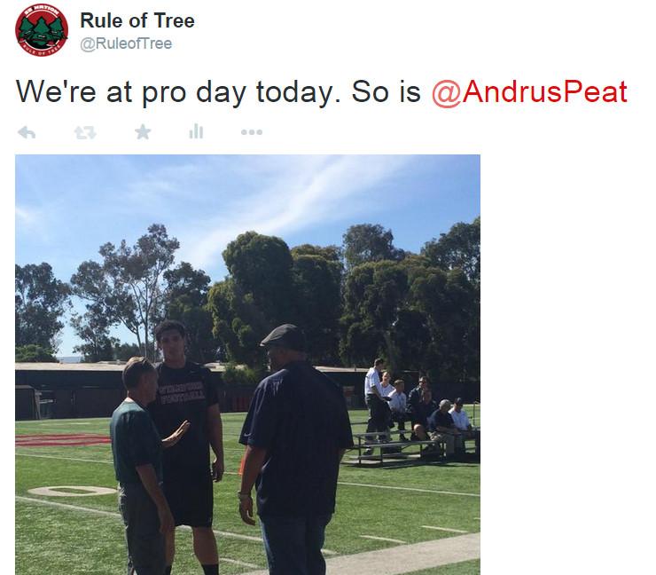 Andrus Peat Pro Day