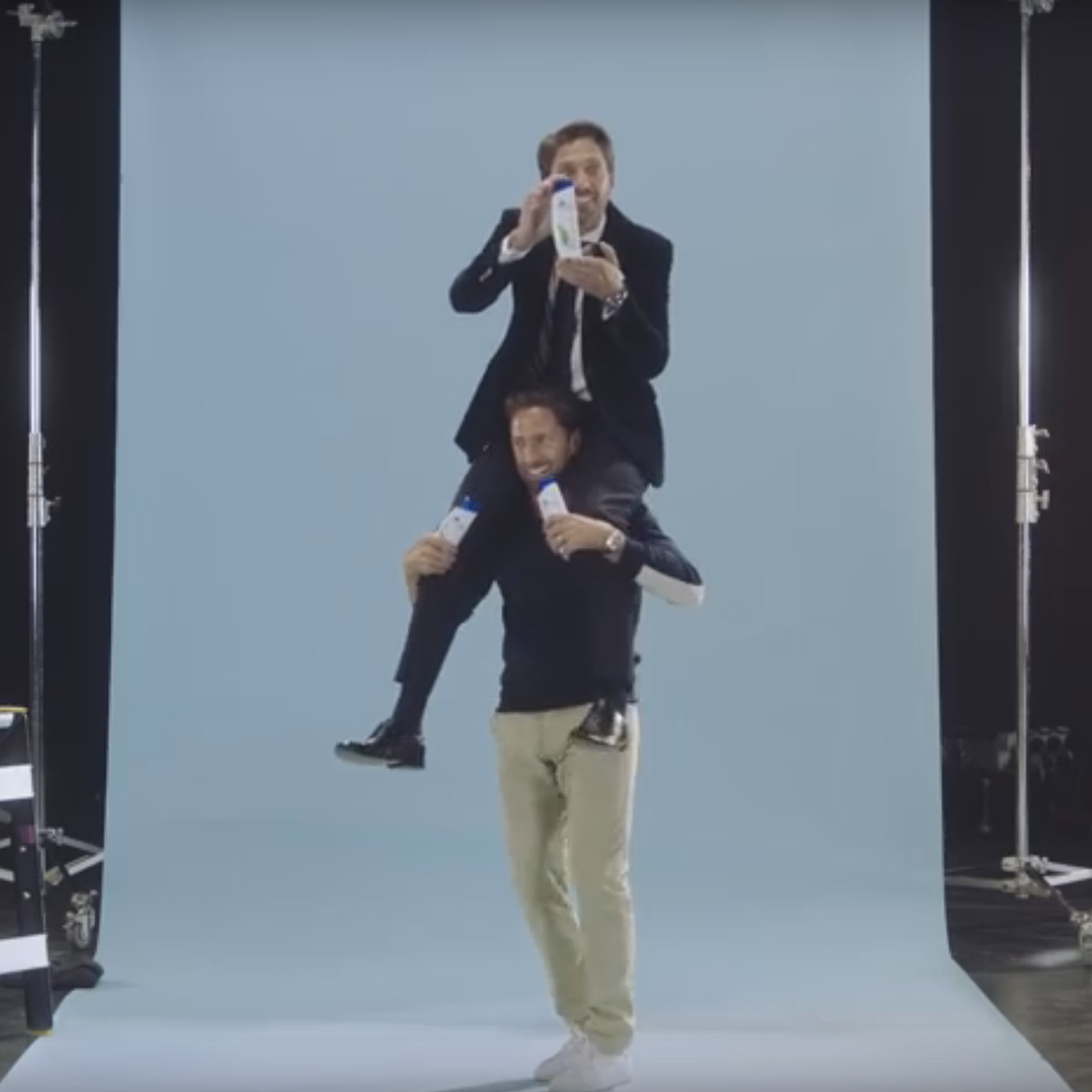 Watch Henrik And Joel Lundqvist Work On Head Shoulders Ad