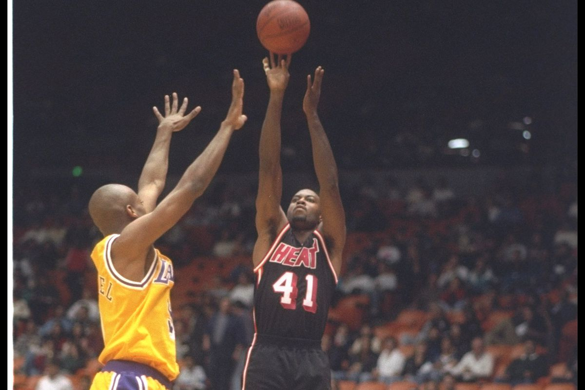 Glen Rice 30 Years of Heat Hot Hot Hoops