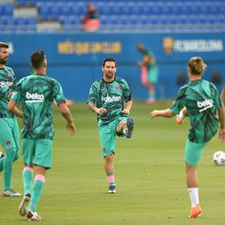 Messi and Co. get ready for action